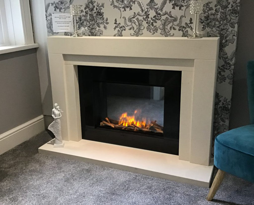 Premier Fireplaces Cardiff The Electric Laguna